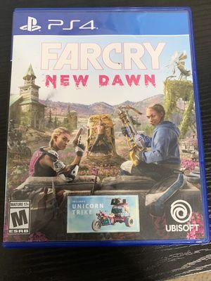 Far cry new dawn ps4 for Sale in Tuscaloosa, AL
