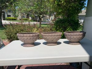 Garden plants pots for Sale in Orlando, FL