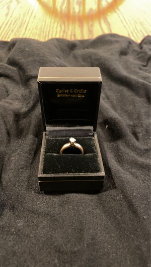 14 k gold wedding set ring size 51/2 for Sale in San Francisco, CA