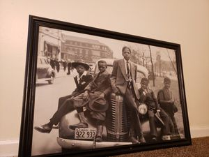 Huge ::southsideChicago 1941 framed :: size 39.5×27.5::view last pic for Sale in Bellwood, IL