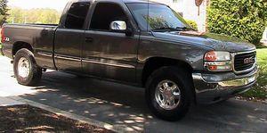 Great 2001 GMC Sierra 1500 Clean 4WDWheels for Sale in Tacoma, WA