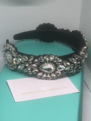 Black and silver headband for Sale in Boynton Beach, FL