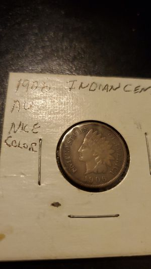 1906 Indian Head Cent..Nice Strike au for Sale in Middle River, MD