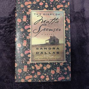 The diary of mattie spenser by sandra dallas for Sale in Oceanside, CA