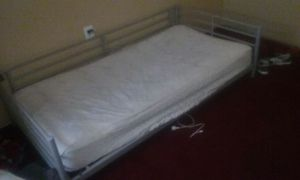 Twin bed mattress and frame for Sale in Silver Spring, MD