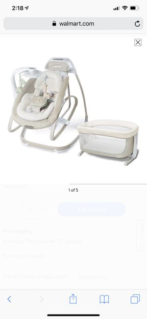 Baby items for sale: chair, rocker, bassinet, umbrella stroller and carrier for Sale in Chelsea, MA