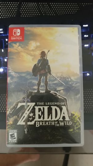 Zelda Breath of the Wild for Nintendo Switch for Sale in Happy Valley, OR