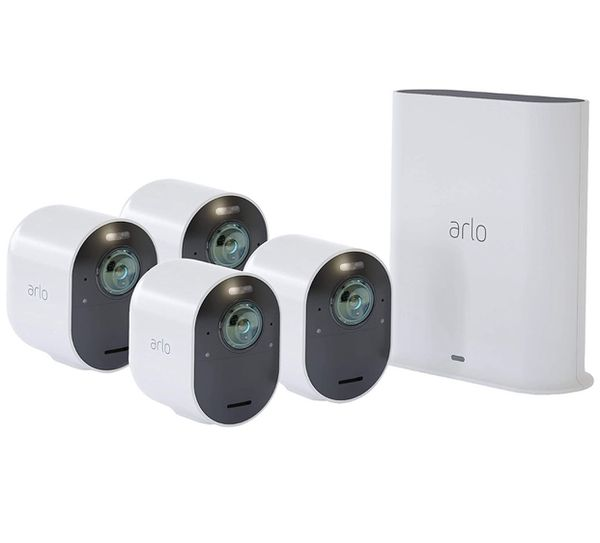 Arlo Ultra 4K Security System (4-Pack)