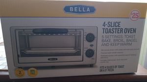 Bella 4 Slice Toaster Oven for Sale in Hampton, GA
