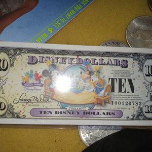 $10 DISNEY DOLLARS 2009 RARE CAUSE OF CHANGE THEY DID THAT YEAR for Sale in Bensalem, PA
