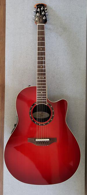 Ovation Standard Balladeer Acoustic Electric Guitar for Sale in Scottsdale, AZ