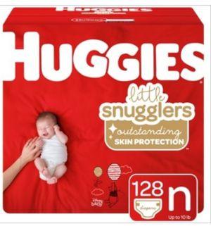 Huggies little snugglers nb for Sale in Commerce, CA