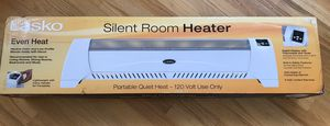 Electric Silent Room heater for Sale in Tacoma, WA