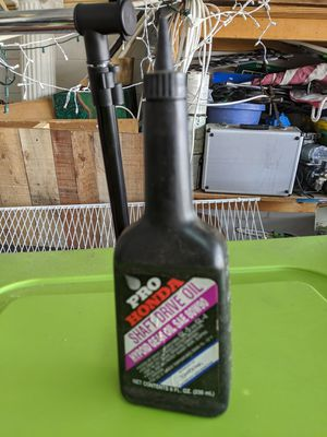 Honda shaft drive motorcycle oil for Sale in Davenport, FL