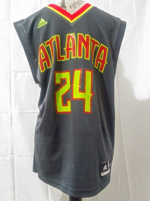 Adidas mens Atlanta Hawks Kenneth Bazemore alternate jersey for Sale in Alpharetta, GA