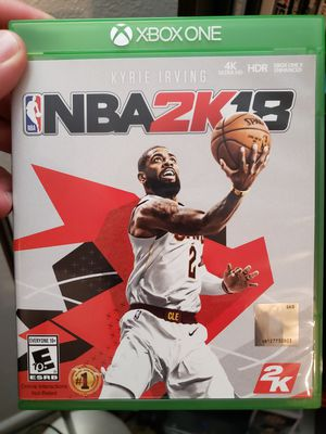 NBA 2k18 - Xbox One for Sale in Alamo Heights, TX