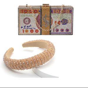 Rhinestone Money Bags And Headbands Sets for Sale in Tampa, FL
