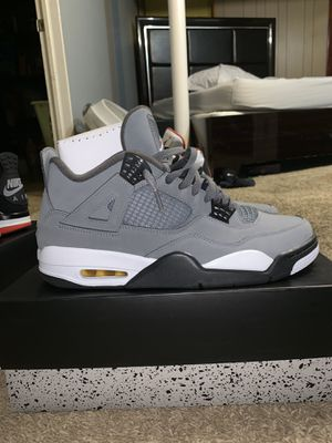 Air jordan retro 4 COOL GREY sz 11.5 worn once for Sale in Chicago, IL