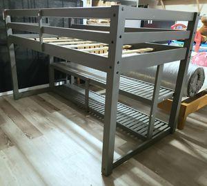 NEW TWIN Size Loft Bed w/ Storage Shelves w/ Repair: njft Kids bedrm for Sale in Burlington, NJ