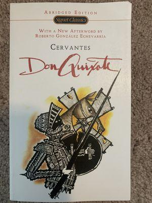 Don Quixote Book for Sale in Auburn, WA