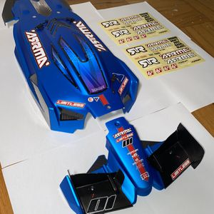 ARRMA LIMITLESS 1:7 All-Road Roller Pre-Painted Matte Blue Body With Front Wings for Sale in Rockville, MD