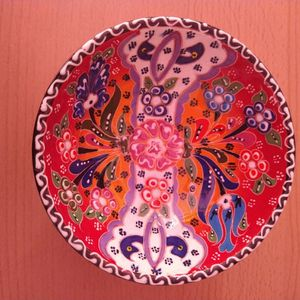 Turkish Handmade Ceramic Bowl for Sale in San Francisco, CA