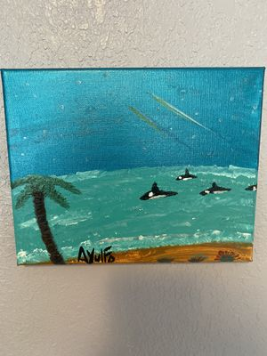 """Canvas painting 8"""" x 10"""" for Sale in Orlando, FL"""