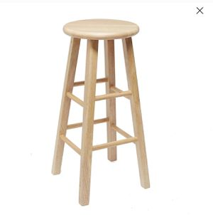 Two white matching stools for Sale in Kent, WA
