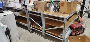 Two industrial work tables for Sale in Worth, IL