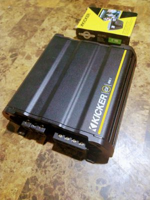 Kicker 600.1 monoblock amplifier. With bass knob new. 180.00 amp and knob or 150.00 amplifier without knob. Pick up merced for Sale in Merced, CA