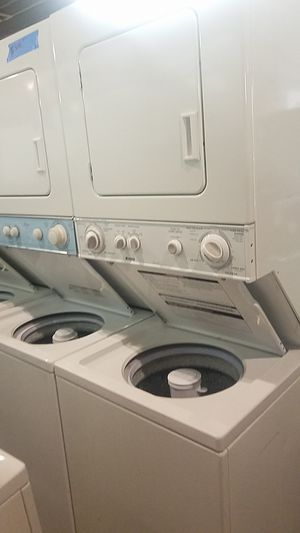 Dryer and washer set unit stackable brand new scratch and dent for Sale in Baltimore, MD