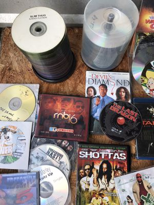 Lots of cds and movies for Sale in Carrollton, TX