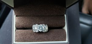Diamond engagement ring 2.66 ct platinum. for Sale in Lake Wales, FL