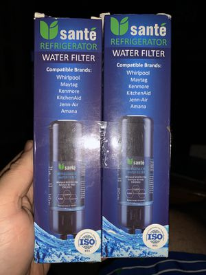 2 Sante refrigerator filter for Sale in Liberty, SC
