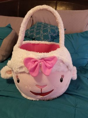 Lambie easter basket for Sale in Tucson, AZ