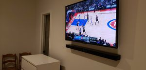 Smart TV wall mounting sound bar install for Sale in Silver Spring, MD