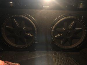 "2 12"" Kicker CVR with Kicker Comp R box included for Sale in Pleasanton, CA"