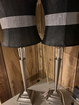 Lamps with lamp shades for Sale in North Attleborough, MA