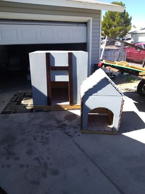 Dog houses for sale 300 for big dog house 150 for small one custom made for Sale in Las Vegas, NV