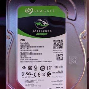 2TB HDD Seagate Barracuda Compute for Sale in Kirkland, WA