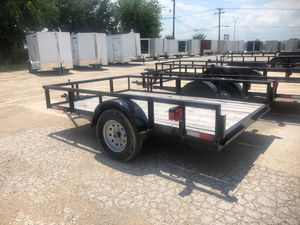 77x10 utility trailer single axle for Sale in Dallas, TX