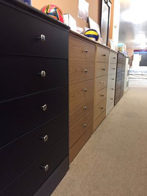 DRESSER 5 DRAWER - PICK YOUR COLOR for Sale in Chino Hills, CA