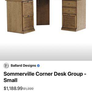 CORNER DESK BY BALLARD DESIGNS for Sale in San Diego, CA