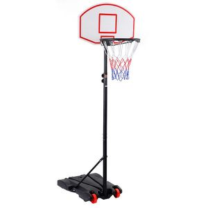 Adjustable Basketball Hoop System Stand with Wheels for Sale in La Puente, CA