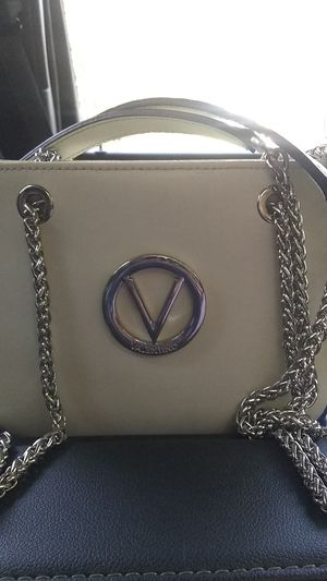 Mario Valentino Handbag Italian Made (Yvette;Milk Color) for Sale in Portland, OR