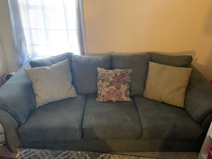 Sage Green Couches (One With Chase) for Sale in Buffalo, NY