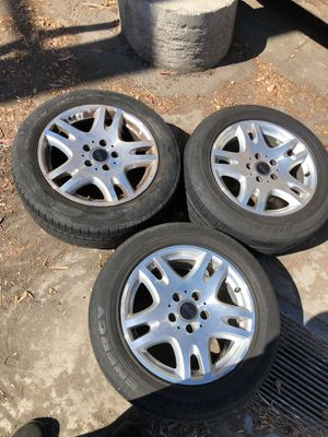 3 wheels. Need tires. 16x8 225/55r16 for Sale in Milpitas, CA