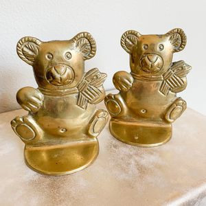 Vintage Brass Bookends for Sale in Fayetteville, AR