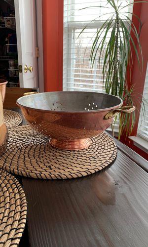 Vintage Waldow copper strainer for Sale in Manassas, VA