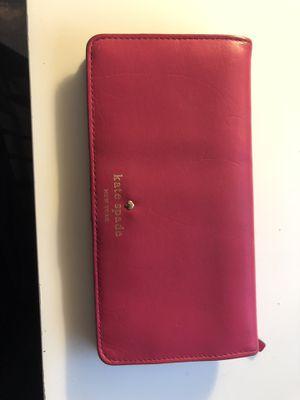 Kate Spade Pink Wallet for Sale in Seattle, WA